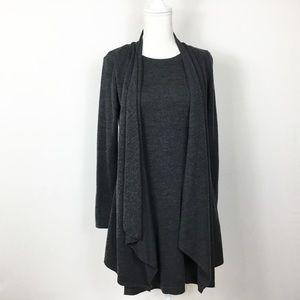 Donna Ricco Waterfall Sweater Dress